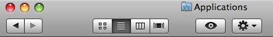 New Toolbar Style